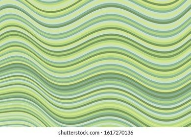 Trendy curve wave stripes warp vector background graphic design. Dynamic movement of waves, curve stripes, warp lines. Vibrant wavy flow abstract background. Poster backdrop.