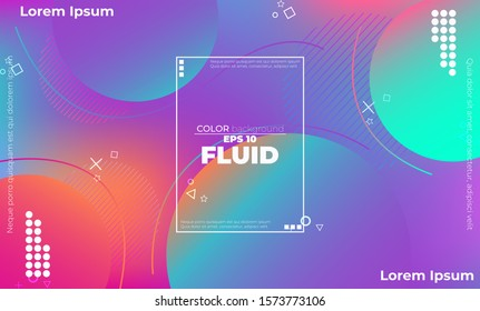 Trendy geometric background. 3d Fluid wave liquid shape. Suitable For Wallpaper, Banner, Background, Card, Book Illustration, landing page, gift, cover, flyer, report, bussiness, social media