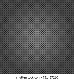 Trendy geometric flat seamless pattern, vector texture for abstract background or brochure, flyer, presentations design. Design for poster, card, invitation in black, white and gray colors.