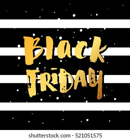 """trendy lettering poster. Hand drawn calligraphy. concept handwritten poster. """"black friday"""""""