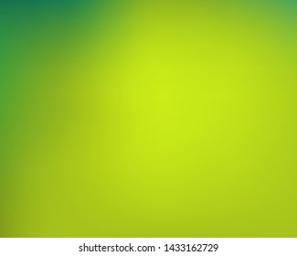 Trendy modern abstract background. Fresh backdrop with bright rainbow colors. Vector illustration theme. Green elegant and easy editable smooth banner template.