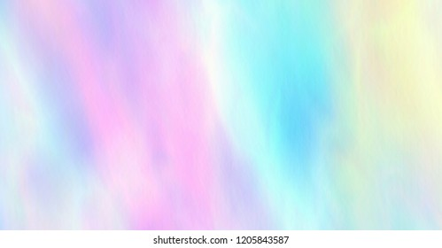 Trendy pastel colors. Soft hues are a classic spring, summer.  Magic iridescent wallpaper, rainbow texture.  Vector EPS10.