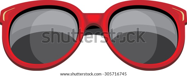 trendy-red-sunglasses-isolated-on-600w-3