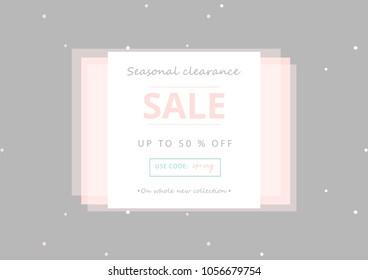 Anniversary sale banner stock vectors images & vector art