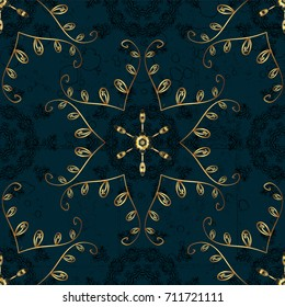 Trendy stylized golden snowflakes and elements memphis cards. Retro style texture, pattern and abstract winter elements. Modern abstract design poster, cover, card design in colors.