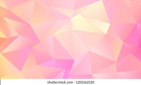 Trendy Triangular Design. Abstact Quartz Background.