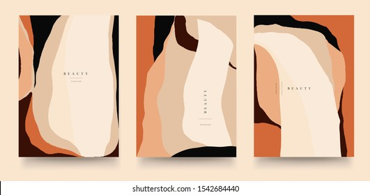 Trendy universal artistic templates. Good for cover, invitation, banner, placard, brochure, poster, card, flyer and other. Abstract background.