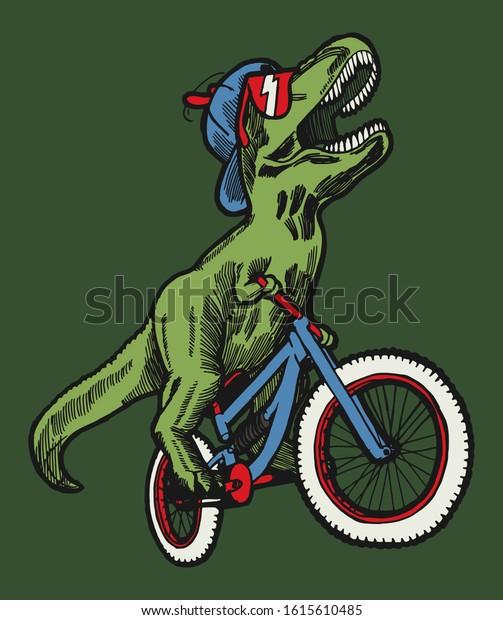 trex-riding-bicycle-funny-dinosaur-600w-