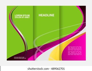 Similar images stock photos vectors of abstract bunting design tri fold brochure tri fold brochure flyer design template maxwellsz