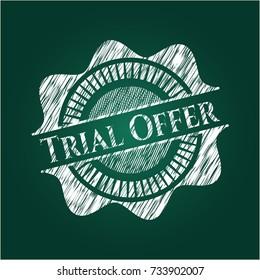 Trial Offer on blackboard