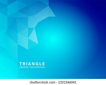 Triangle Abstract background - Vector