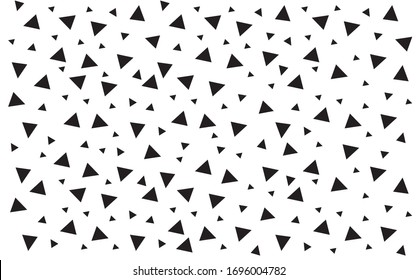 Triangle abstract mosaic background. Modern abstract illustration.