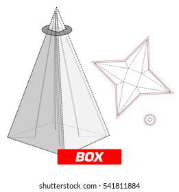Triangle box, cutting