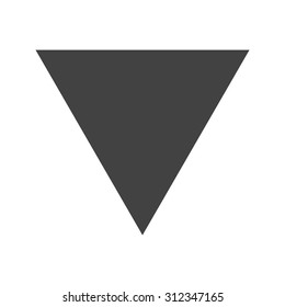 Triangle, design, pyramid icon vector image. Can also be used for shapes and geometry. Suitable for use on web apps, mobile apps and print media.