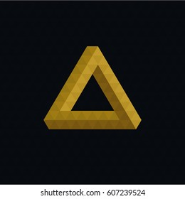 Triangle Flat Geometric Illustration