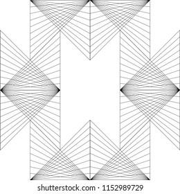 Triangle Geometric Pattern