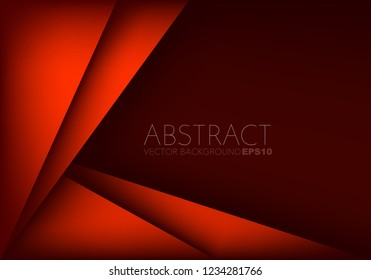 triangle geometric vector background overlap layer on space for background design