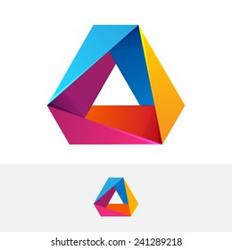 Triangle logo.
