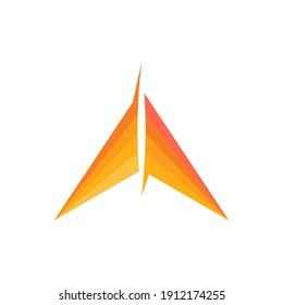 triangle logo design eps 10