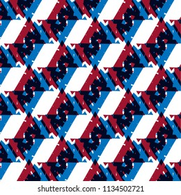 Triangle modern seamless pattern style : vector eps.10