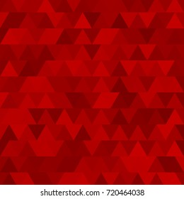 Triangle mosaic background Vintage texture. Vector illustration.