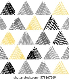 Triangle pattern. Beauty simple triangles image, illustration. Creative, luxury gradient color style. Print label, banner, cover, card, website, wrapper, web, wrap, shirts, emblem, cloth. Street art