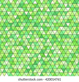 Triangle pattern. Seamless vector