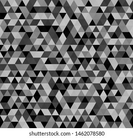 Triangle pattern. Seamless vector background