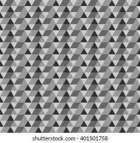 Triangle pattern. Trendy beauty simple many triangle seamless pattern, image, illustration. Creative, luxury gradient color style. Print label, banner, book, cover, card, website, wrapper.