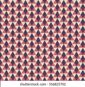 Triangle pattern. Trendy beauty simple many triangles seamless image, illustration. Creative, luxury gradient color style. Print label, banner, book, cover, card, website, wrapper.