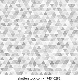 Triangle pattern. Vector seamless background