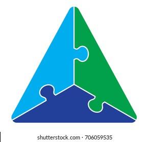 Triangle Puzzle Graphic