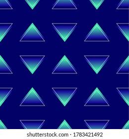 Triangle vectorn ornament graphic pattern