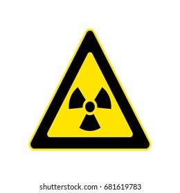 triangle yellow warning sign. Vector, illustration