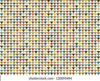 triangles abstract vector pattern