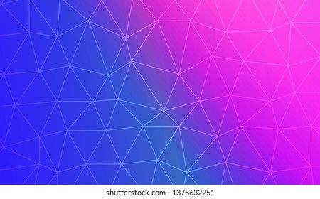 Triangles mosaic cover. Modern design for you business, project. Vector illustration. Blurred Background, Smooth Gradient Texture Color