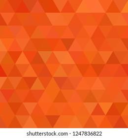 Triangles orange background