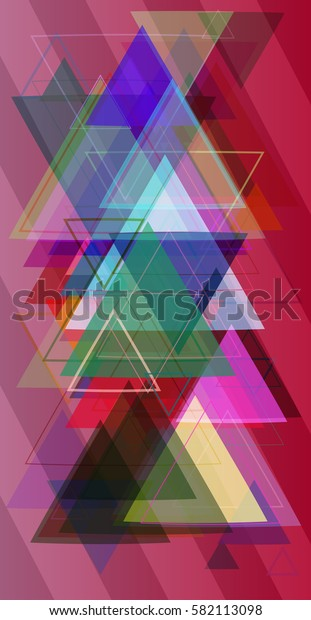 triangles texture background