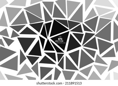 Triangular Abstract Background, Eps10 Vector
