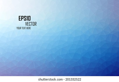 Triangular abstract colorful background eps10 vector