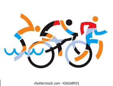 triathlon images stock photos vectors 10 off shutterstock rh shutterstock com triathlon team logos triathlon logo generator