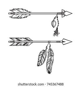 Arrow Feather Illustration Images Stock Photos Vectors Shutterstock