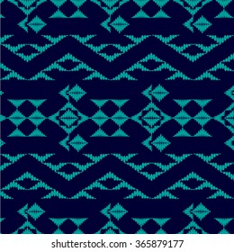 Tribal art boho pattern. Ethnic geometric print. Aztec repeating background texture in black and white. Fabric, cloth design, wallpaper, wrapping
