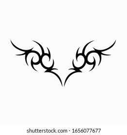 tatouage d'art tribal composé d'éléments ethniques maoris. tatouage, manche abstraite tribale, bras noir, image vectorielle motif tatouage fantastique, croquis, création d'art isolée