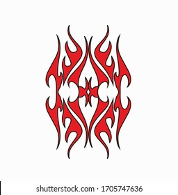 Tribal Tattoo Images Stock Photos Vectors Shutterstock,Firefighter Tattoo Designs
