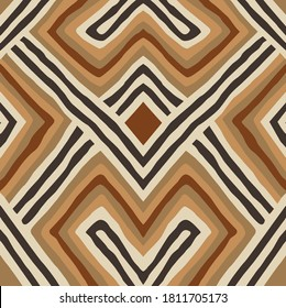 Tribal aztec pattern design for textile and fashion.