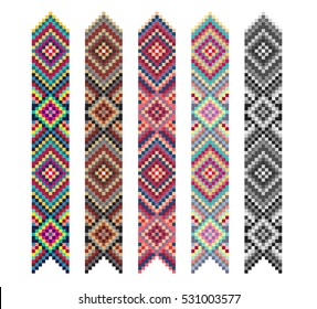 tribal bracelet strips