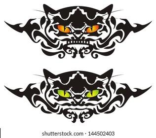 Tribal cat eyes