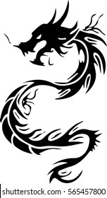 Dragon Tattoo Images Stock Photos Vectors Shutterstock