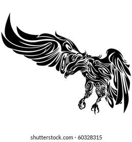 Tribal Eagle by Roberto Ojeda
